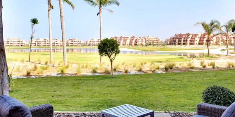 Cheap apartments in Costa Cálida: ideal for sunbathing, playing golf and feeling the gentle sea breeze