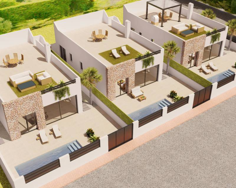 Detached Villa - New build - San Javier - Santiago de la Ribera