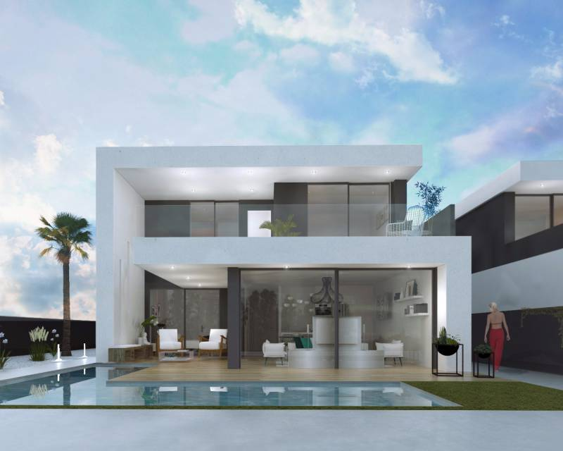 Detached Villa - New build - Santiago de la Ribera - San Blas