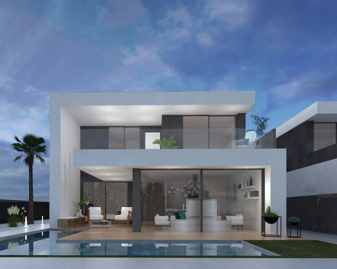 New build - Detached Villa - Santiago de la Ribera - San Blas
