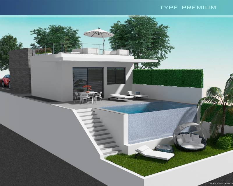 Detached Villa - New build - San Miguel de Salinas - San Miguel de Salinas Town
