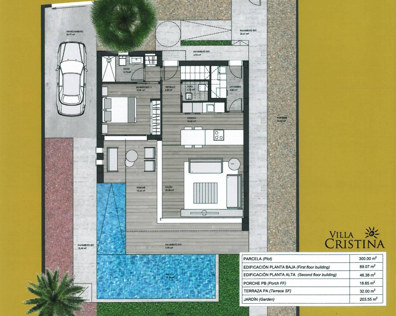 New Build Detached Villa San Javier Ra