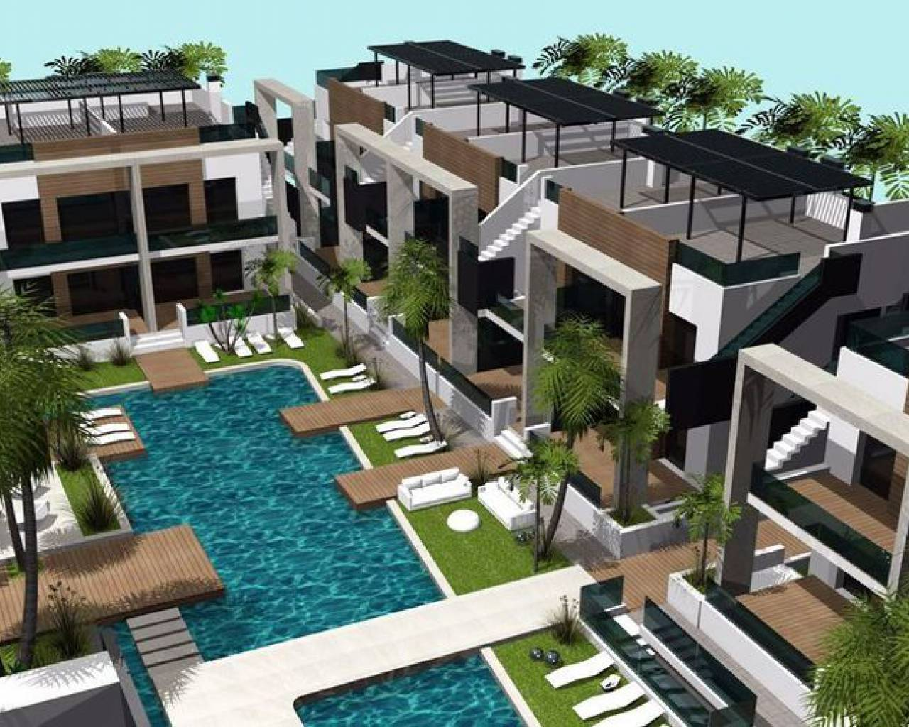 New build - Townhouse  - Guardamar Del Segura - Guardamar de la Segura
