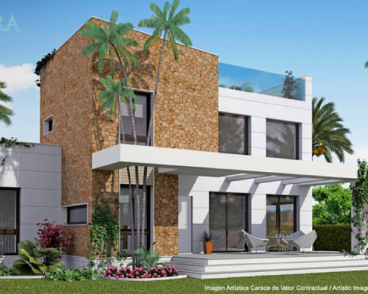 New build - Detached Villa - Doña Pepa