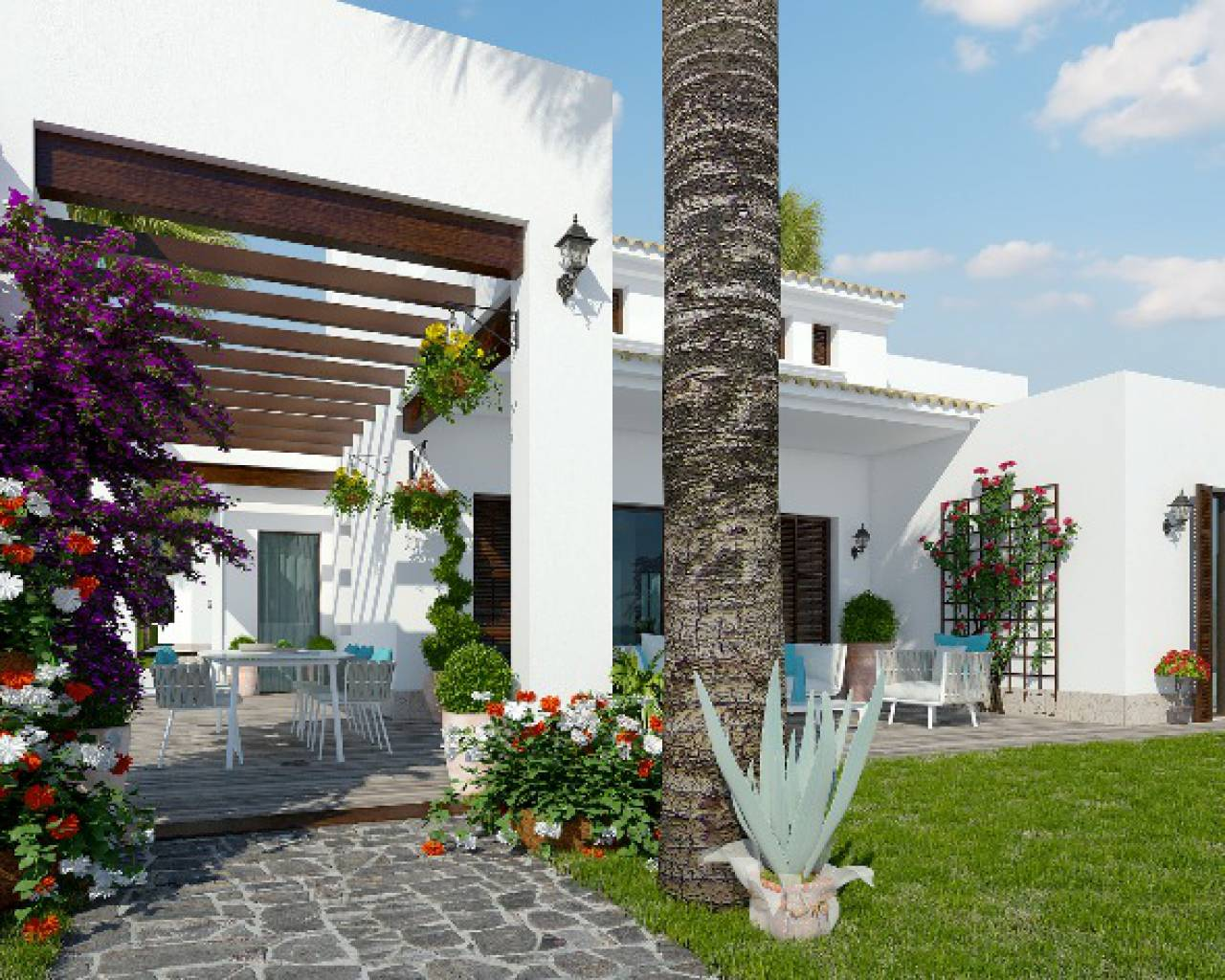 New build - Detached Villa - Algorfa - La Finca
