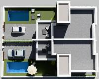 New build - Semi Detached Villa - Benijofar