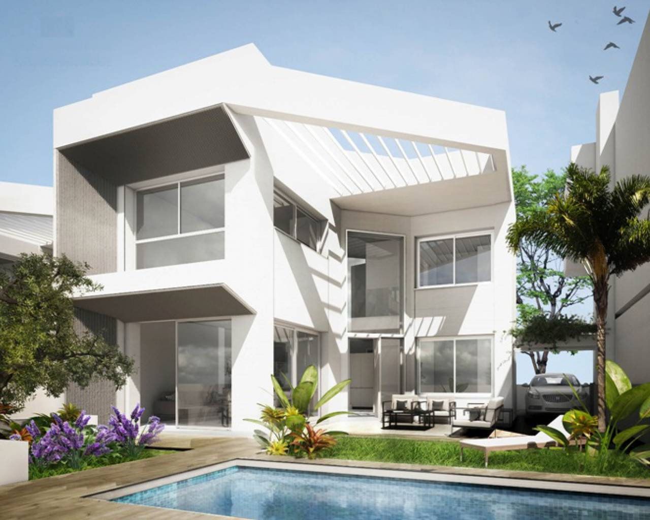 New build - Detached Villa - Torrevieja - Mar Azul