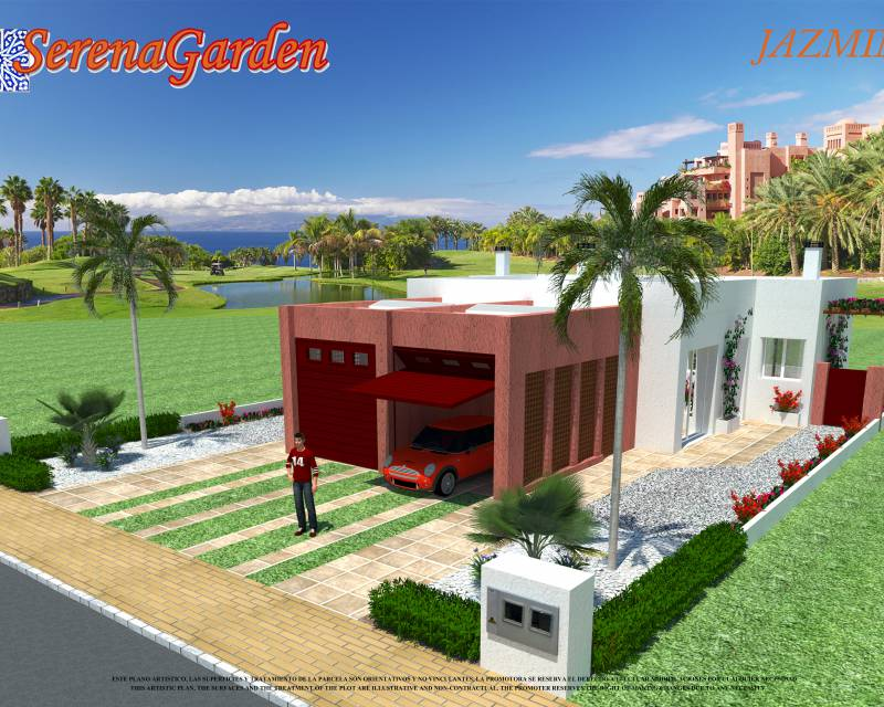 Detached Villa - New build - Los Alcazares - Serena Golf