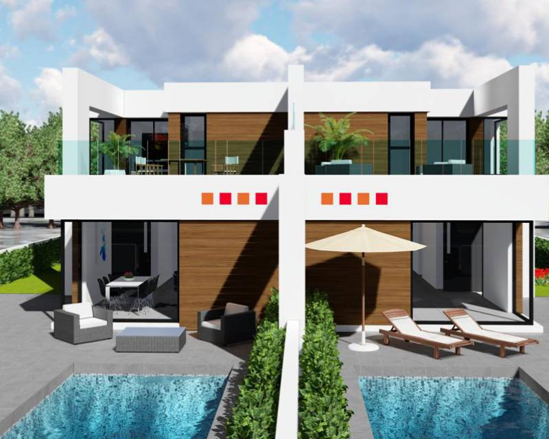 Semi Detached Villa - New build - Benijofar - Benijofar