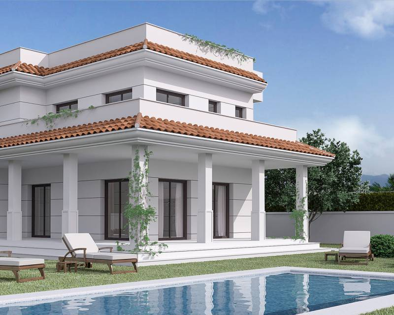 Detached Villa - New build - Ciudad Quesada - Ciudad Quesada - Town