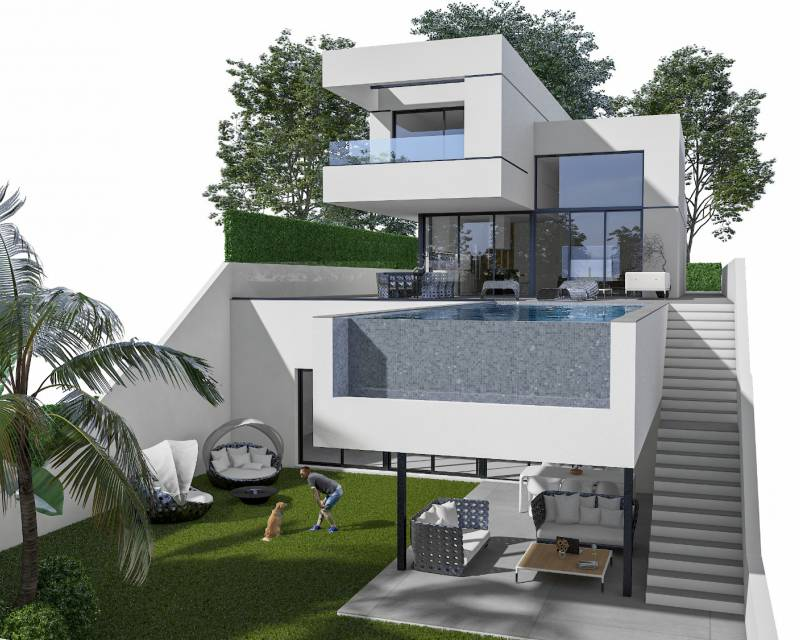 Detached Villa - New build - Polop de la Marina - Polop - Town
